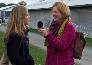Monika vom Fiberthermometer interviewt Rosy